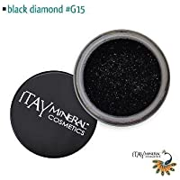 Itay Beauty Mineral Cosmetic Face and Body Glitter Color Black Diamond G15 by Itay Beauty