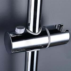 25 mm-Pommeau de douche coulissant et support de Rail de rechange