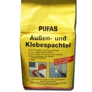 Pufas Aussen- und Klebespachtel 5,000 KG