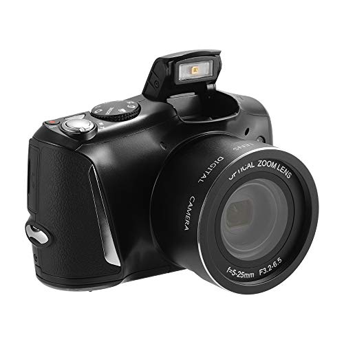 Kreema 24MP 20X Zoom Digitalkamera 3,5 Zoll IPS Bildschirm Display HD Video Recorder Anti-Shake-Camcorder mit Blitzlicht LF864