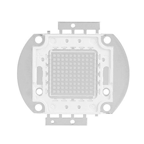 Hochleistungs LED Chip 100W UV395 400Nm LED UV Strahler Emitter Komponenten Diode Ultraviolette Birnen Lampe bördelt DIY Beleuchtung für DIY Wasserkultur Aquarium wachsende Lampen