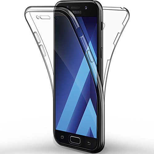 Galaxy Galaxy A5 2017 Funda, Leathlux Cover Galaxy A5 2017 Gel Silicona...