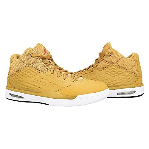 Nike Jordan New School Schuhe Sneaker Sport, Herren Vergoldet   Rot   Weiß    Schwarz ... 724b2a0d97
