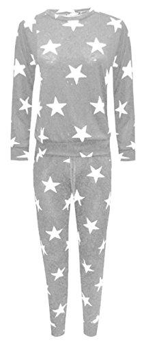 Sugerdiva - Combinaison - Femme gris argent