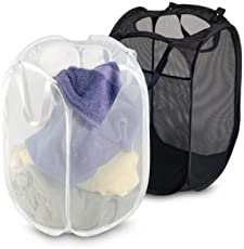 Kuber Industries 2 Piece Mesh Laundry Basket Set