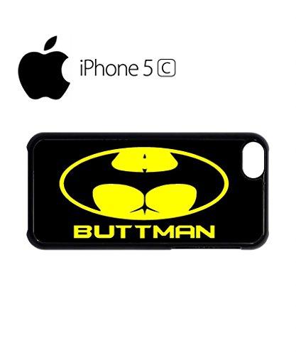 Buttman Parody Joke Mobile Cell Phone Case Cover iPhone 5c White Schwarz