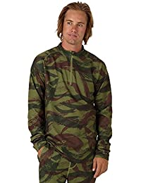Burton Mb Exp 1/4 Zip -Winter 2018- Brush Camo
