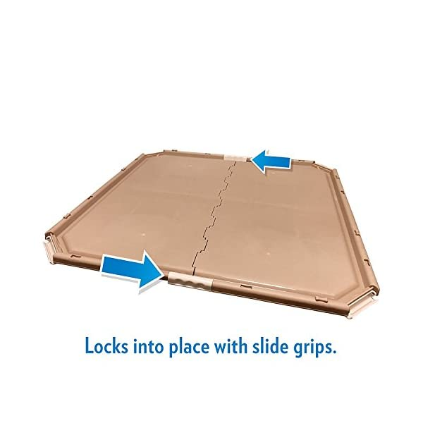 Simple Solution Dog and Puppy Pad Holder, Regular or Large Sized Training Pads 3