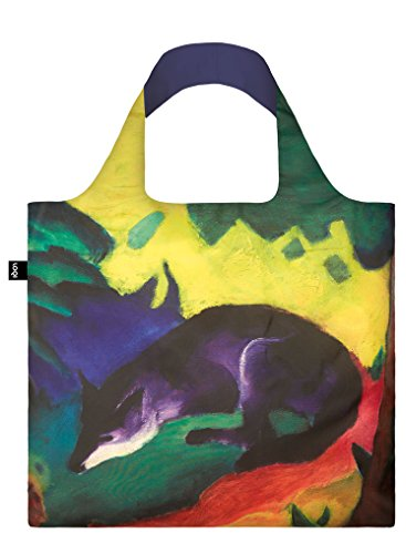 LOQI-Museum-Franz-Marc-Blue-Fox-Reusable-Shopping-Bag