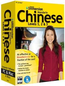 Instant Immersion Chinese Levels 1, 2 & 3 - Complete package -...