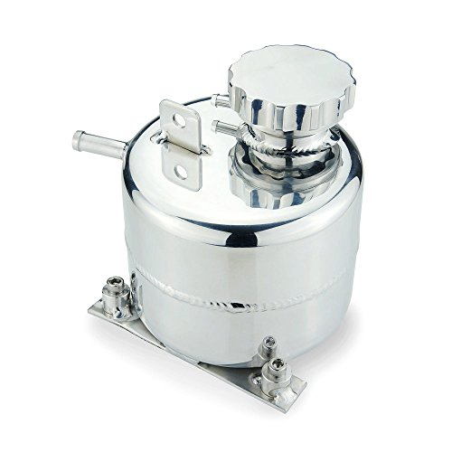 Heinmo lega di alluminio auto radiatore refrigerante espansione serbatoio per 02 – 2006 Mini Cooper S 05 – 08 R52 SILVER