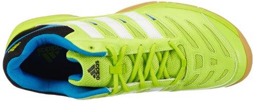 adidas Essence 10.1 D67040 Herren Handballschuhe Grün (solar slime/solar blue s14/running white)
