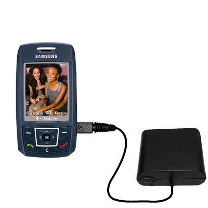 Advanced AA Akkupack als Ladezubehör kompatibel mit Samsung SGH-T429 Mit TipExchange Technologie