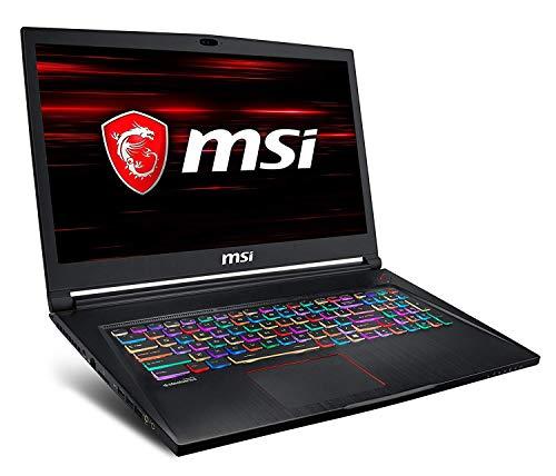 "MSI Gaming GS73 8RE-042ES Stealth Nero Computer portatile 43,9 cm (17.3"") 3840 x 2160 Pixel 2,2 GHz Intel® CoreTM i7 di ottava generazione i7-8750H"