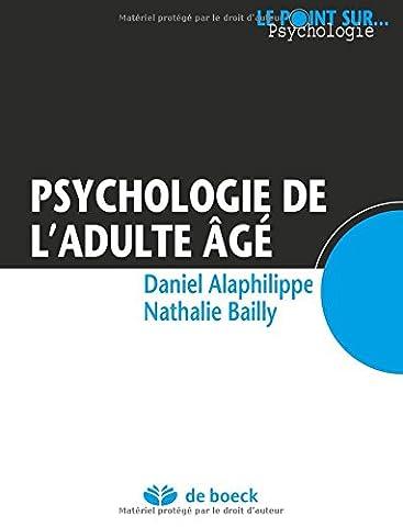Psychologie de l'adulte