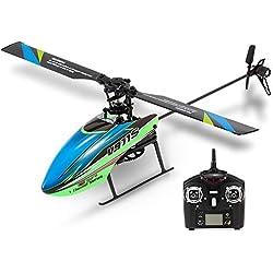 Goolsky WLtoys V911S 4CH 6G No-aleron RC Helicoptero con giroscopio para la formación de Juguetes para niños Regalo de los niños