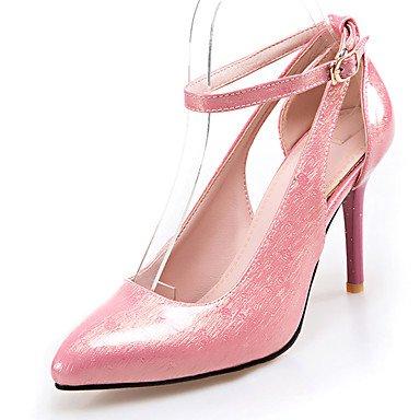 LFNLYX Frauen Fersen Frühling Sommer Herbst Winter Andere Club Schuhe Lackleder Customized Materialien Hochzeit Büro & Karriere Party & Abend Pink