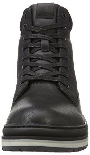 Aldo Weniel, Bottes de Neige Homme Noir (Black Leather / 97)