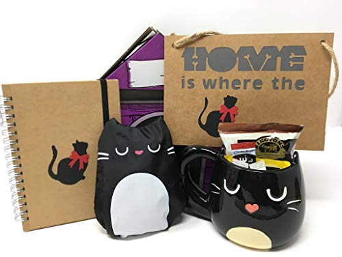 Pet Presents The Home is Where The Cat Is Gift Hamper for Cat Lovers
