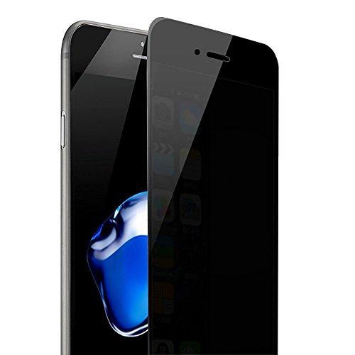 Magicmoon iPhone 7 Proteggi schermo vita Privata Anti Spy, [Vetro temperato] 0,3 millimetri 9H durezza, Antigraffio, L'anti impronta digitale, Bubble gratis (iPhone 7 Privacy)