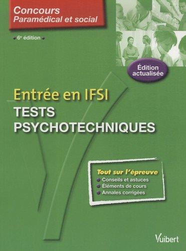 Tests psychotechniques : Entrée en IFSI
