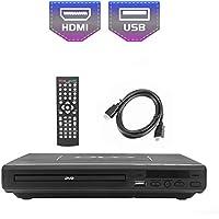 Reproductor de DVD de 225 mm para TV, Uso en Entretenimiento y Aprendizaje en el hogar, Salida HDMI / AV, Entrada USB, con Control Remoto (sin BLU-Ray)