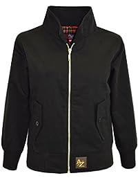 A2Z 4 Kids® Kids Harrington Jacket Girls Boys New Classic Vintage Retro 1970'S Style Coats Age 3 4 5 6 7 8 9 10 11 12 13 Years