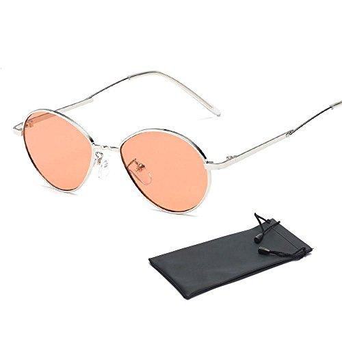 01fa94cb2ca Pawaca rétro adultes Petite ronde Lunettes de soleil John Lennon Style  vintage Look Eyewear UV400 Style