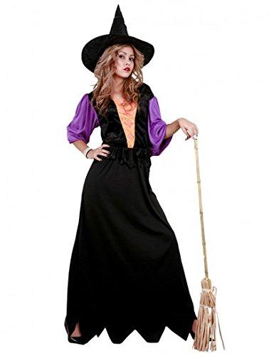 (Déguisement sorcière classique Halloween adulte--40/42)
