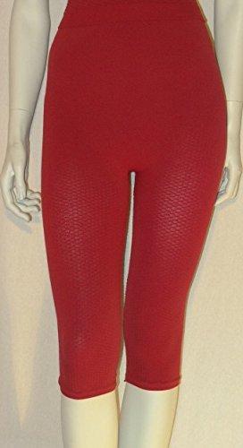 Leichtigkeit, Flüssigkeit (Straffende Shorts, Anti-Zellulite-Effekt, uni, kirschfarben, XL)