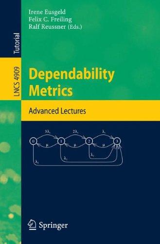 Dependability Metrics: GI-Dagstuhl Research Seminar, Dagstuhl Castle, Germany, October 5 - November 1, 2005, Advanced Lectures (Programming and Software Engineering)