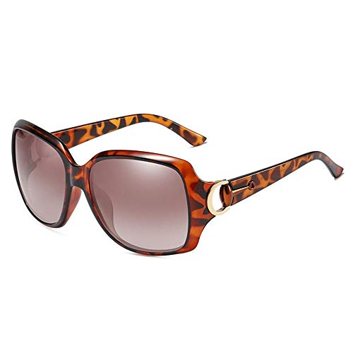 XIAONK Polarisierte Sonnenbrillen_Factory Großhandel Frauen Polarisierte Sonnenbrillen Wild Classic 3609 Polarized Driving Polarized Sun@Leopard Farbe
