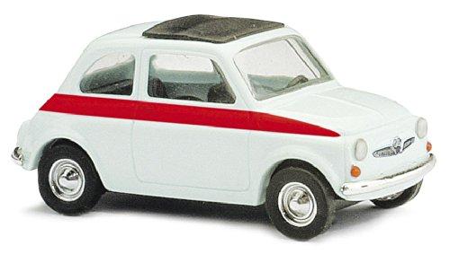 Busch Voitures - BUV48717 - Modélisme - Fiat 500 - Sport - 1965 - Blanc