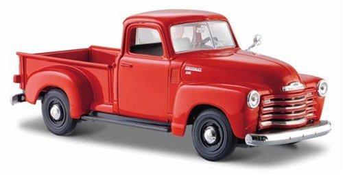 maisto-31952bk-vehicule-miniature-modele-a-lechelle-chevrolet-pick-up-3100-1950-echelle-1-24