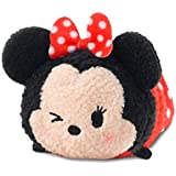 "Disney Tsum Tsum Mickey & Amigos Minnie Mouse 3.5"" Peluche [Guiñando, Mini]"