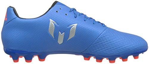 adidas Messi 16.3 Ag, Entraînement de football homme Bleu (Shock Blue /matte Silver/core Black)