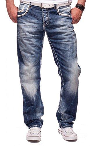 CIPO & BAXX Herren Jeans CD223 Blau