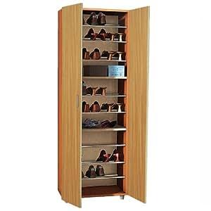 Armadio scarpiera mobile in rovere in legno per interno - Mobile stiro mondo convenienza ...