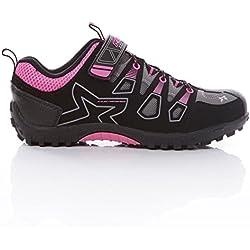 Zapatillas Ciclismo MÍTICAL Fucsia Mujer (Talla: 40)