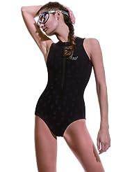 Cressi Termico DG000504 - Traje de baño para mujer, color negro, talla L (4)