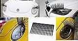 Beito Auto-Scheinwerfer-Wimper - Universal Passend für jedes Auto Aufkleber