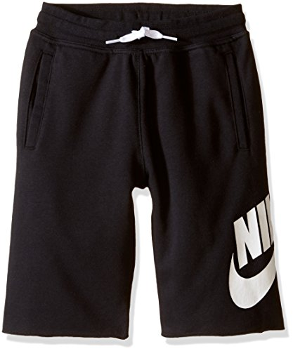 Nike Jungen Oberbekleidung French Terry Alumni Shorts, Schwarz, L (French Trainingshose Terry)
