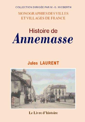 Annemasse (Histoire d') d'occasion  Livré partout en France