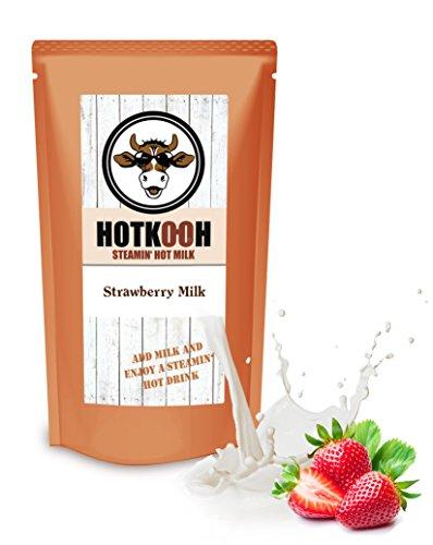 HOTKOOH Strawberry Milk Mix für Heisse Milchgetränke 200g