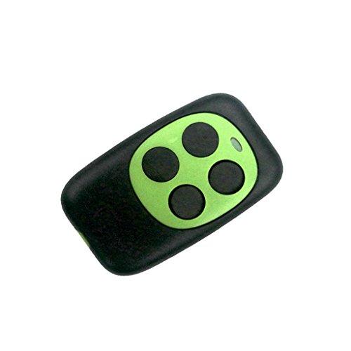 F Fityle Universal Türfernbedienung Funkschlüssel 433MHz Fernsteuerung für Fahrzeug Zentralverriegelungen, Garagentore - Grün