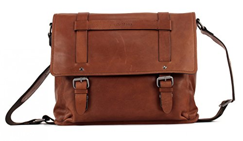 Strellson Harper Aktentasche III Leder 40 cm Laptopfach brown