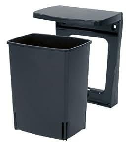 brabantia 395246 poubelle de placard rectangulaire 10 l. Black Bedroom Furniture Sets. Home Design Ideas