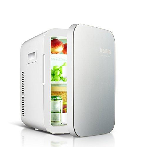 CivilWeaEU 20L Double Cooling Car Kühlschrank Mini Mini Kühlschrank Kleine Haushalt Kühlung Dorm Zimmer Auto Startseite Dual-Einsatz warm und kalt ( Farbe : Grau )