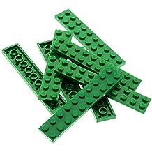 4 x Lego Leiste Bau Platte Stein gelb 2x16 4996 6597 5972 7249 8457 428224 4282