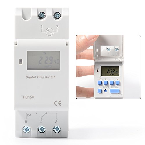 XCSOURCE THC15A Digital LCD Strom Programmierbar Zeit Schalter Elektronischer Timer 110V Für Lichter Elektrische Geräte TH280 - 4